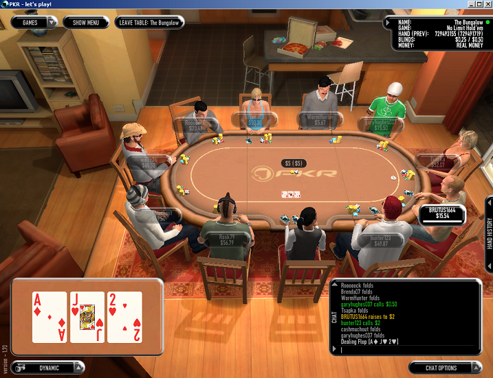Washington poker online