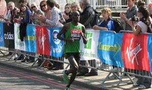 The London Marathon 2014 Date