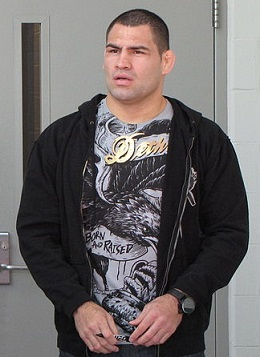 UFC Champ Cain Velasquez - Photo by The Doppelganger