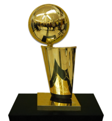 The Current NBA Trophy