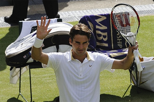 Roger Federer - Wimbledon - Photo by Justin Smith