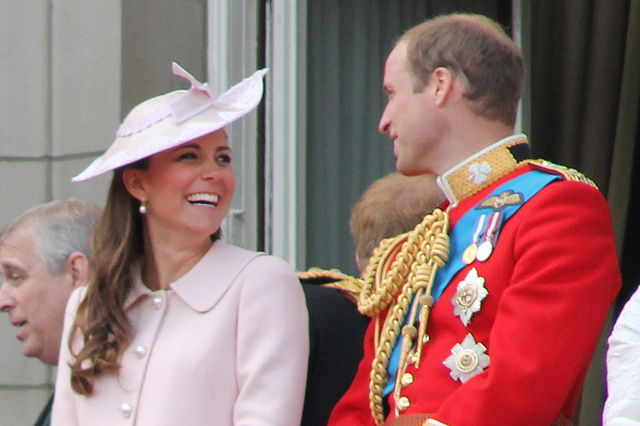 The Duke and Duchess of Cambridge - Photo by Carfax2