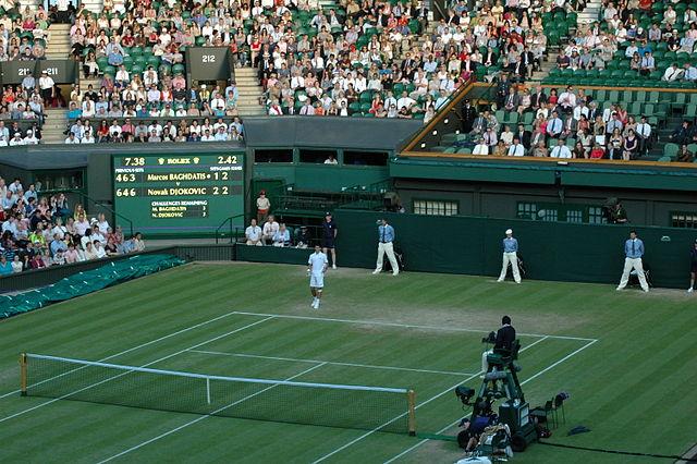Wimbledon's Centre Court - Photo by Mvkulkarni23